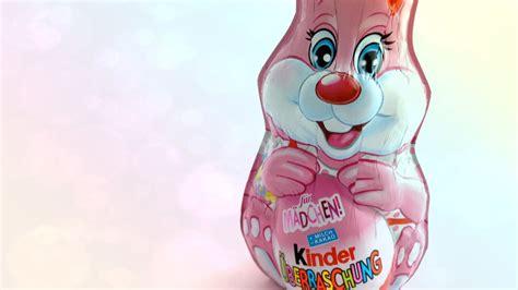 ᴴᴰ Kinder Easter Surprise Egg Bunny Pink 2015 Unboxing ...