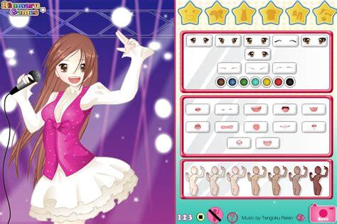 Игра Anime singer girl dress up game – Онлайн