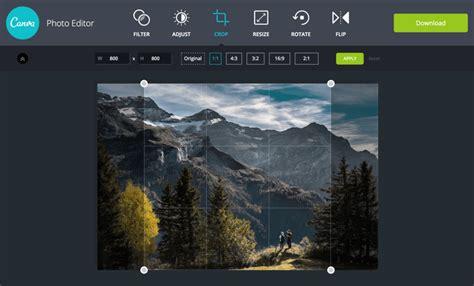 موقع Canva Photo Editor لإضافة التأثيرات والفلاتر على ...