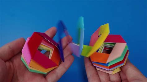 무지개링 슬링키 접는 방법  Designed by Jo Nakashima  / Origami slinky ...