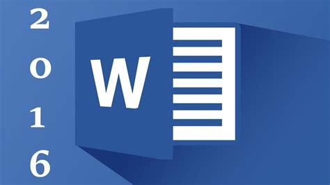 الدرس 1 // شرح برنامج وورد Word 2016 من البداية للاحتراف ...