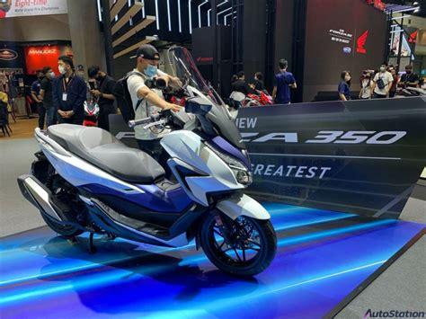เปิดตัว Honda Forza 350 รูปลักษณ์เดิม เครื่องยนต์ใหม่ eSP+ ...