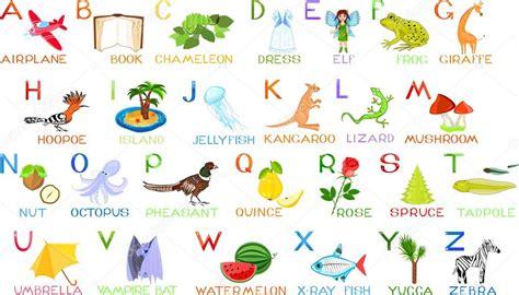 Алфавит в виде животных. Английский алфавит с изображением ...