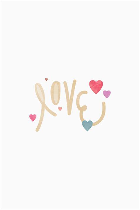 おしゃれな待ち受け画像「Love」   iPhone壁紙ギャラリー