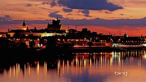 ワルシャワの夕日、ポーランド Bingの壁紙プレビュー | 10wallpaper.com