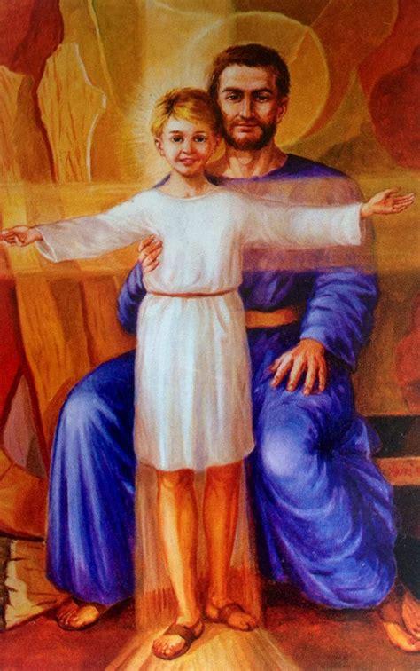 St Joseph and Jesus | Joseph Foster Father of Jesus ...