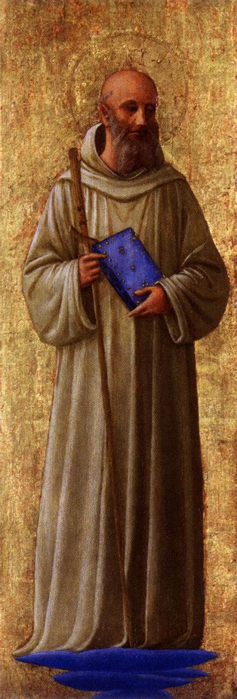 St. Romuald   Fra Angelico   WikiArt.org   encyclopedia of ...