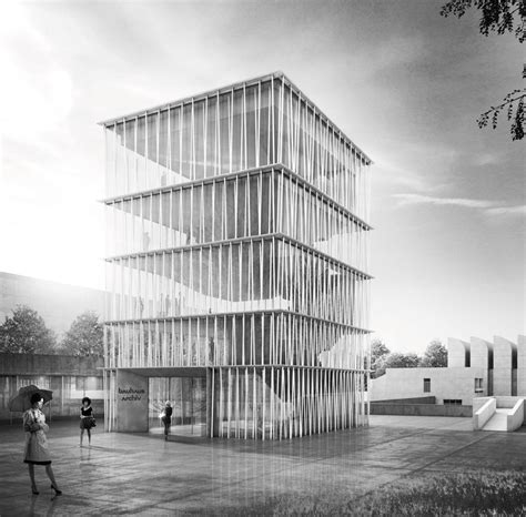 Staab Architekten, nuevo archivo museo de la Bauhaus en ...