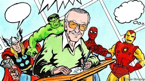 Stan Lee, the creator writer of Marvel Comics' heroes and ...