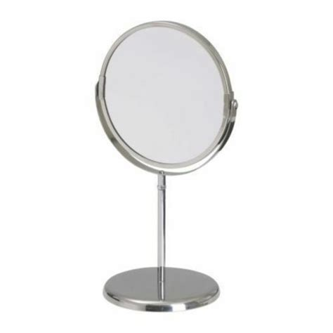 Stand Dual Side Makeup Mirror Beauty Magnifying Bathroom ...