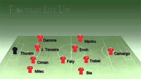 Standard Liège 0 0 Sevilla  Liège Lineup  UEFA Europa ...