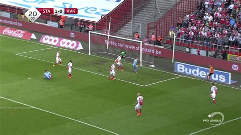 Standard Liege  4  vs  0  Kortrijk Liga Belgica   YouTube