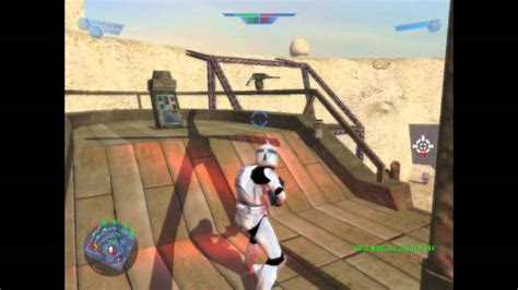 star wars battlefront 1 gameplay #1 pc mos eisley   YouTube