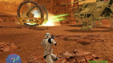 Star Wars Battlefront 1 gameplay The Battle Of Geonosis ...