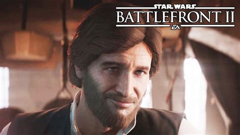Star Wars Battlefront 2 All Han Solo Scenes   YouTube