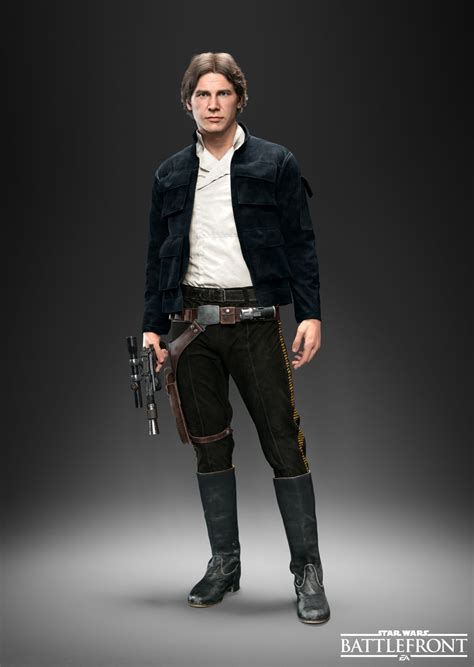 Star Wars Battlefront: Leia, Han Solo, and Palpatine each ...