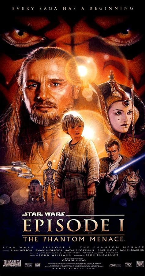 Star Wars: Episode I   The Phantom Menace  1999    IMDb