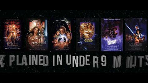 Star Wars Episodes 1 6 Summarized in 9 Minutes   YouTube
