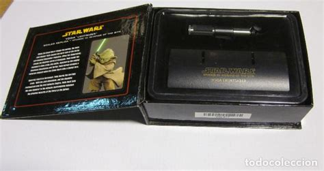 star wars master replicas 0.45 yoda mini lights   Comprar ...