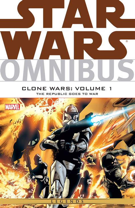 Star Wars Omnibus: Clone Wars Volume 1: The Republic Goes ...