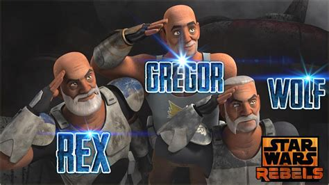 Star Wars Rebels | Aparicion | Capitan Rex | Español ...