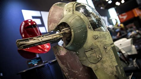Star Wars Slave I Studio Scale Model Replica!   YouTube