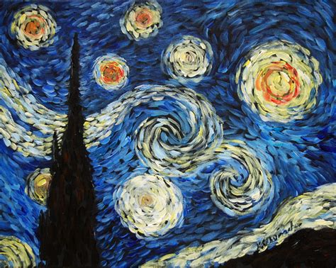 Starry Night Painting Party Wednesday Dec 6th @6:30 PM in ...