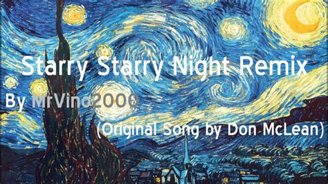 Starry Starry Night   Remix   YouTube