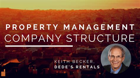 Starting a Property Management Business: Company Structure ...