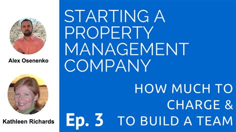 Starting a Property Management Company   How Much to ...