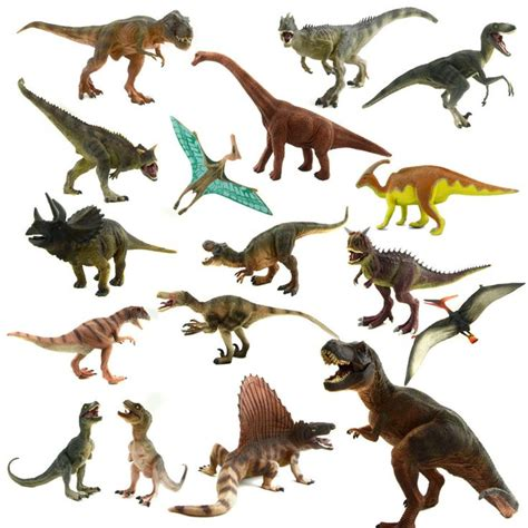 Starz 24 Types Jurassic Park World Plastic Dinosaur Toys ...