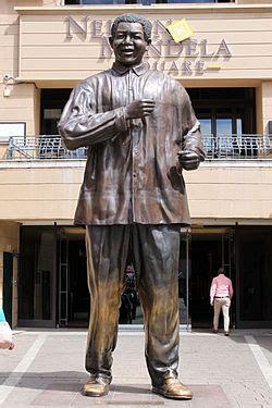 Statue of Nelson Mandela, Johannesburg   Wikipedia
