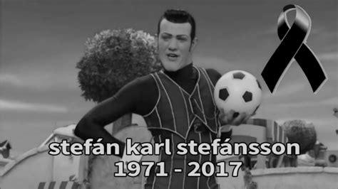 Stefán Karl Stefánsson muere  Adios Robbie Rotten   YouTube