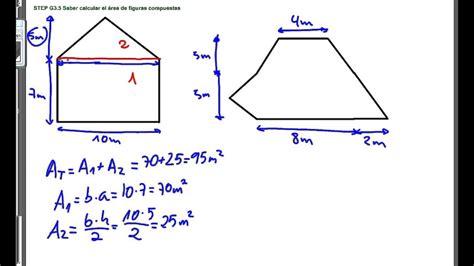 STEP G3.5 Saber calcular el área de figuras compuestas ...