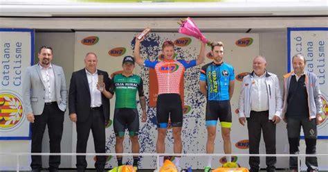 Stephan Bakker  Team Smartdry  vence al sprint en Les ...