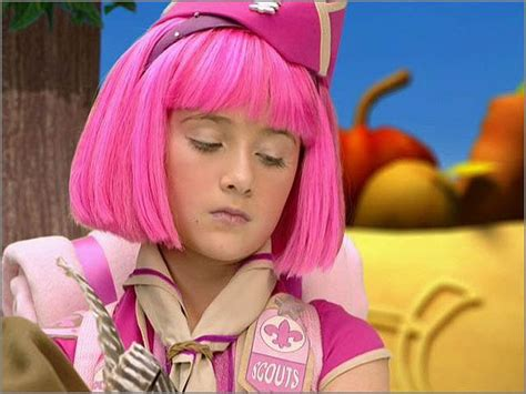 Stephanie lazy town   Imagui