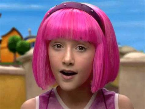 Stephanie LazyTown   YouTube