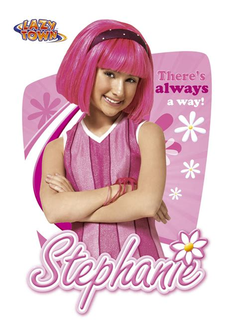 stephanie poster   lazy town Photo  2468568    Fanpop