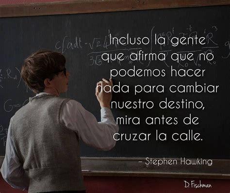 Stephen Hawking | Frases del destino, Citas de libros ...