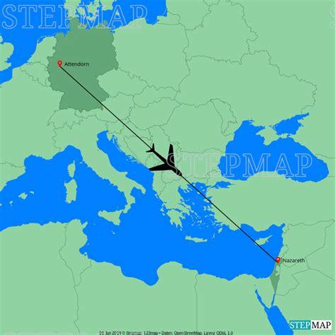 StepMap   Europa Israel   Landkarte für Welt