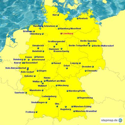 StepMap   IKEA   Landkarte für Deutschland