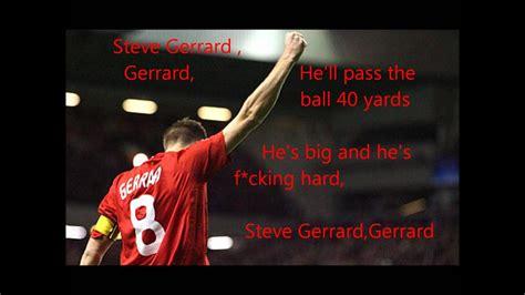 Steven Gerrard Song Lyrics   YouTube