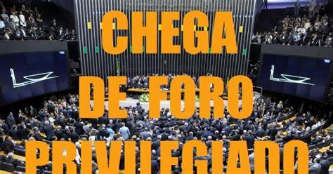 STF: FIM DO FORO PRIVILEGIADO PARA TODOS OS POLITICOS