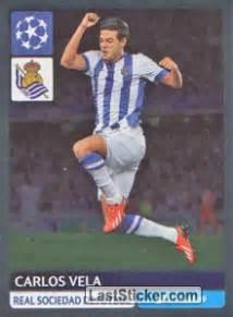 Sticker 323: Carlos Vela   Panini UEFA Champions League ...