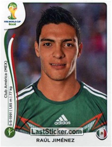 Sticker 87: Raúl Jiménez   Panini FIFA World Cup Brazil ...