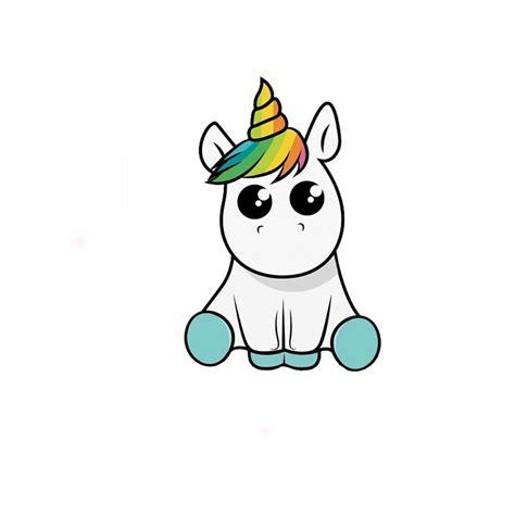 Sticker Unicornio Kawaii Para Auto Pared Puerta Decoración ...