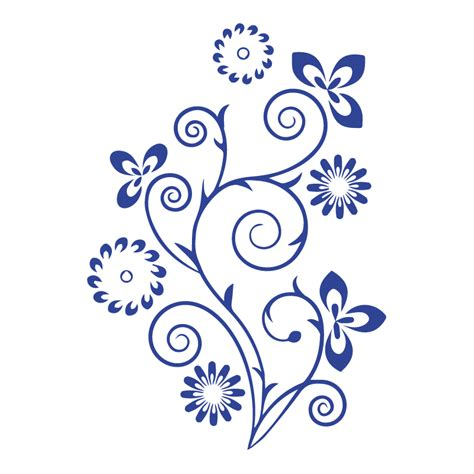 Stickers arabesque floral   Color stickers