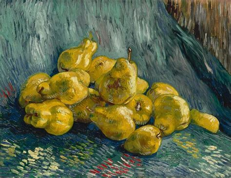 Still Life with Quinces, 1888 by Vincent Van Gogh