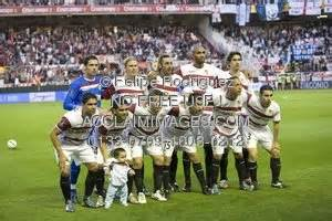 Stock Photo of Sevilla FC Squad