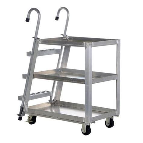 Stock Picking Ladder Cart,1000 lb. G9814147   Walmart.com ...